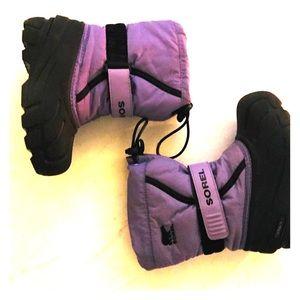 Sorel Waterproof Winter Snow Boots
